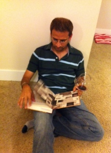 Sunil reading